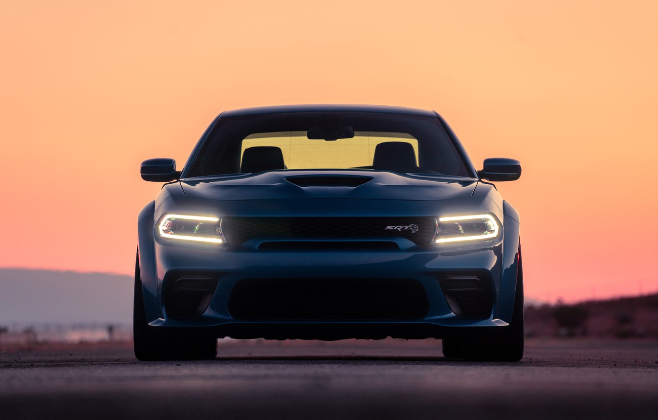Photo wallpaper the evening, Dodge, Charger, Hellcat, SRT, Widebody, 2020