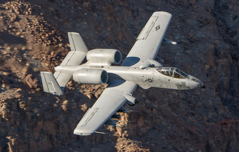Photo wallpaper flight, the plane, combat, A-10C Thunderbolt II