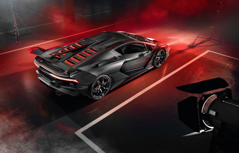 Photo wallpaper Lamborghini, supercar, 2018, SC18