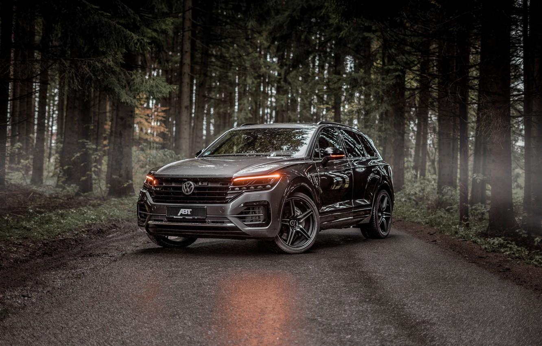 Photo wallpaper TDI, Volkswagen, Touareg, crossover, ABBOT, R-Line, V8, 2019