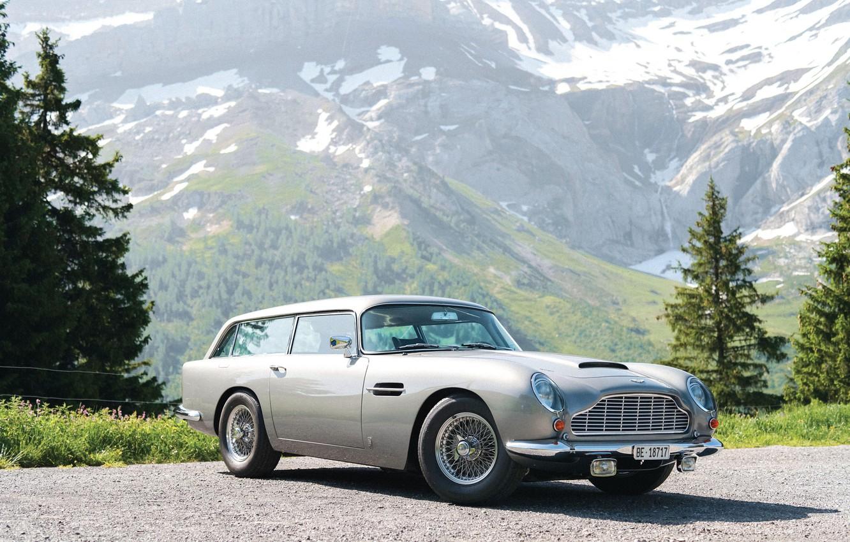 Photo wallpaper Vantage, Shooting Brake, Aston Martin DB5