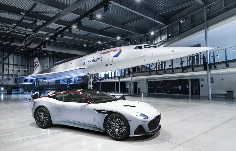 Photo wallpaper Aston Martin, DBS, Superleggera, Edition, Concorde