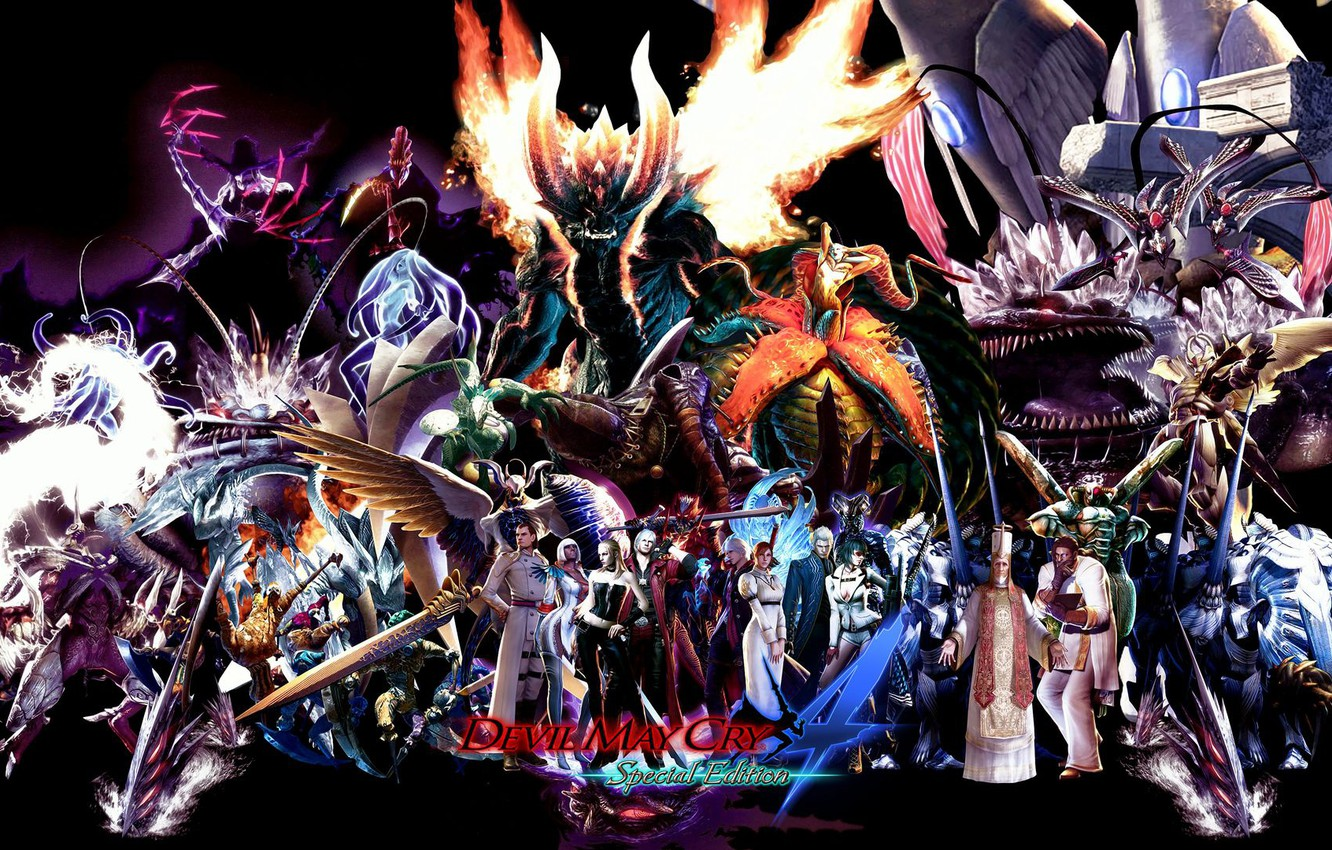 Photo wallpaper The game, characters, Devil May Cry 4, Devil May Cry 4 Special Edition
