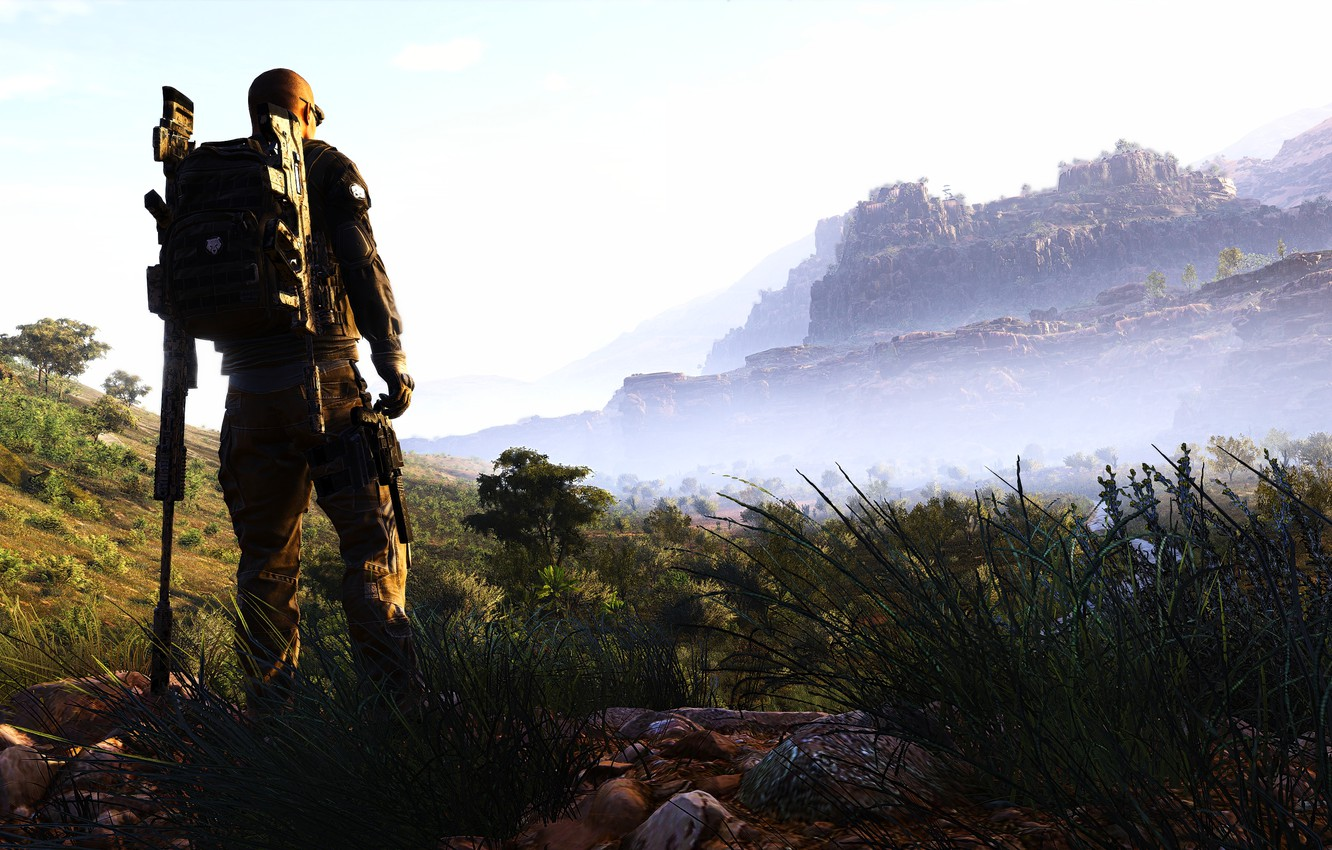 Wallpaper Background The Game Tom Clancy S Ghost Recon Wildlands