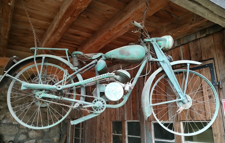 Photo wallpaper france, motor bike, alsace, ecomuseum