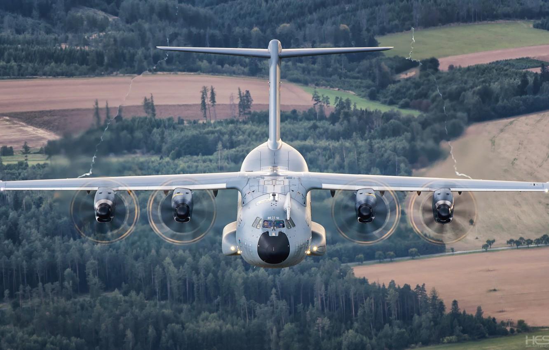 Обои military, airbus, transport, aircraft. Авиация foto 14