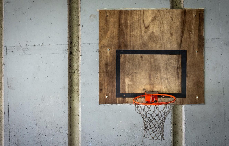 Photo wallpaper sport, shield, basketball