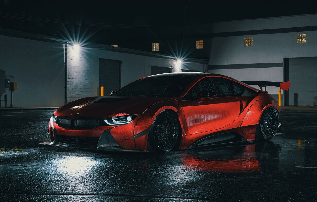 Wallpaper Auto Night Machine Car Night Rendering Bmw I8 Transport Vehicles Widebody Workshop By Widebody Workshop I8 Night Render Images For Desktop Section Bmw Download