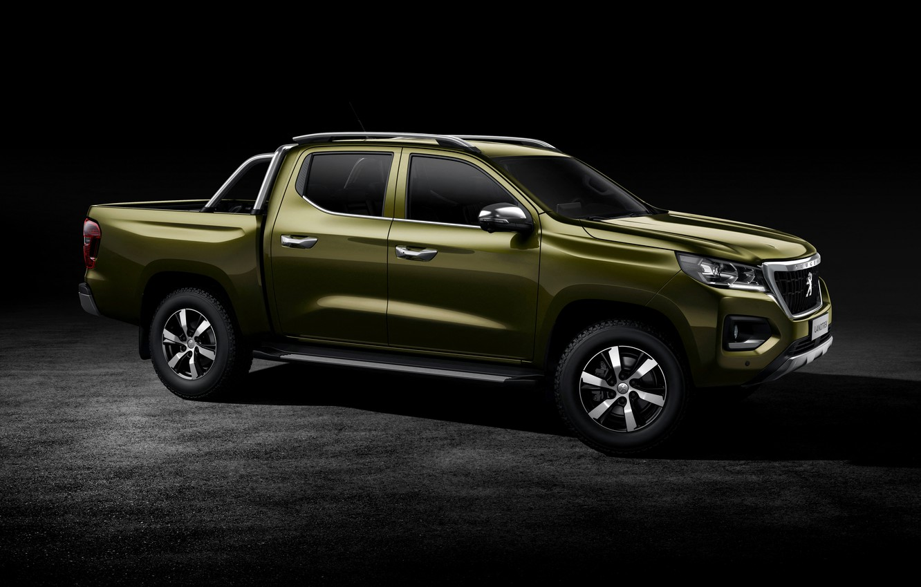 Photo wallpaper Peugeot, side, pickup, 2020, Country trek, Changan Kaicene F70