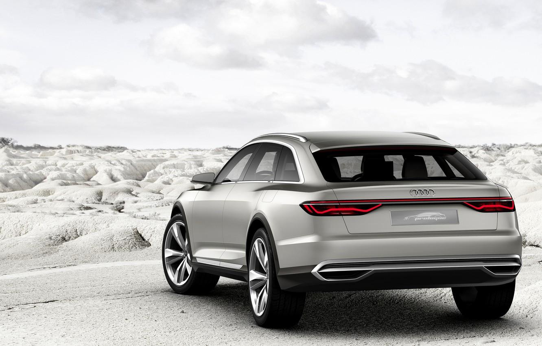 Photo wallpaper Concept, Audi, back, Allroad, universal, 2015, Prologue