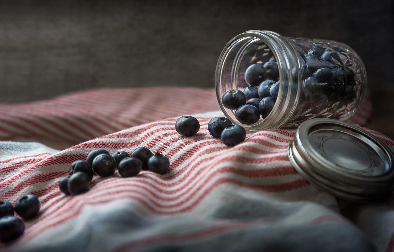Photo wallpaper berries, background, Bank