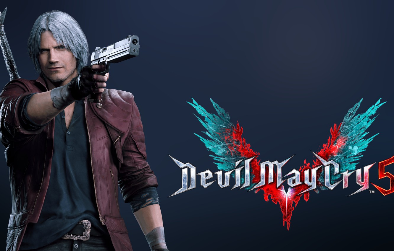 Wallpaper Dante Dmc Devil May Cry 5 Videogame Images For