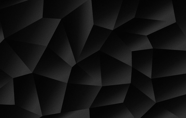 Photo wallpaper shadows, polyhedra, shapes geometry