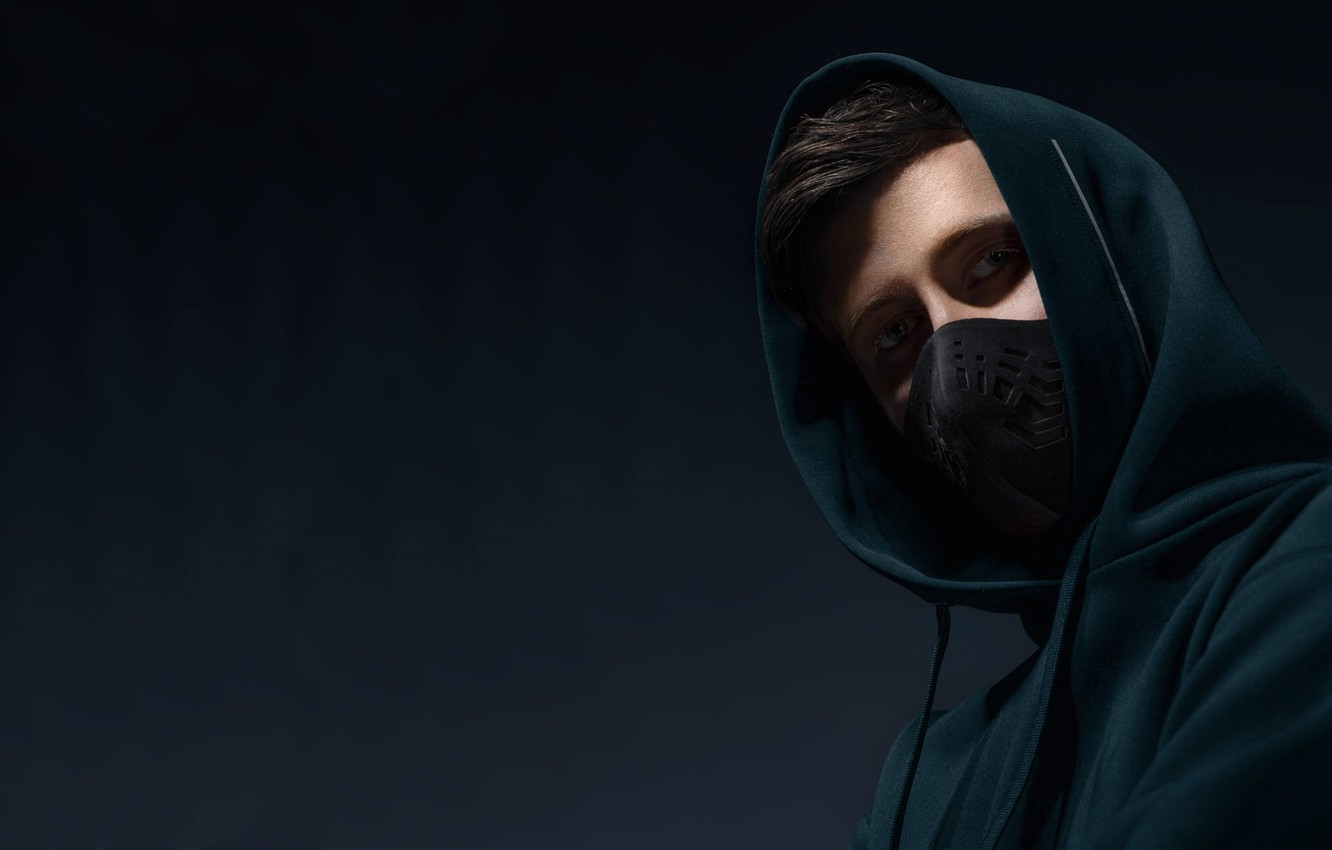 Wallpaper Look Mask Musician Alan Walker Alan Walker On