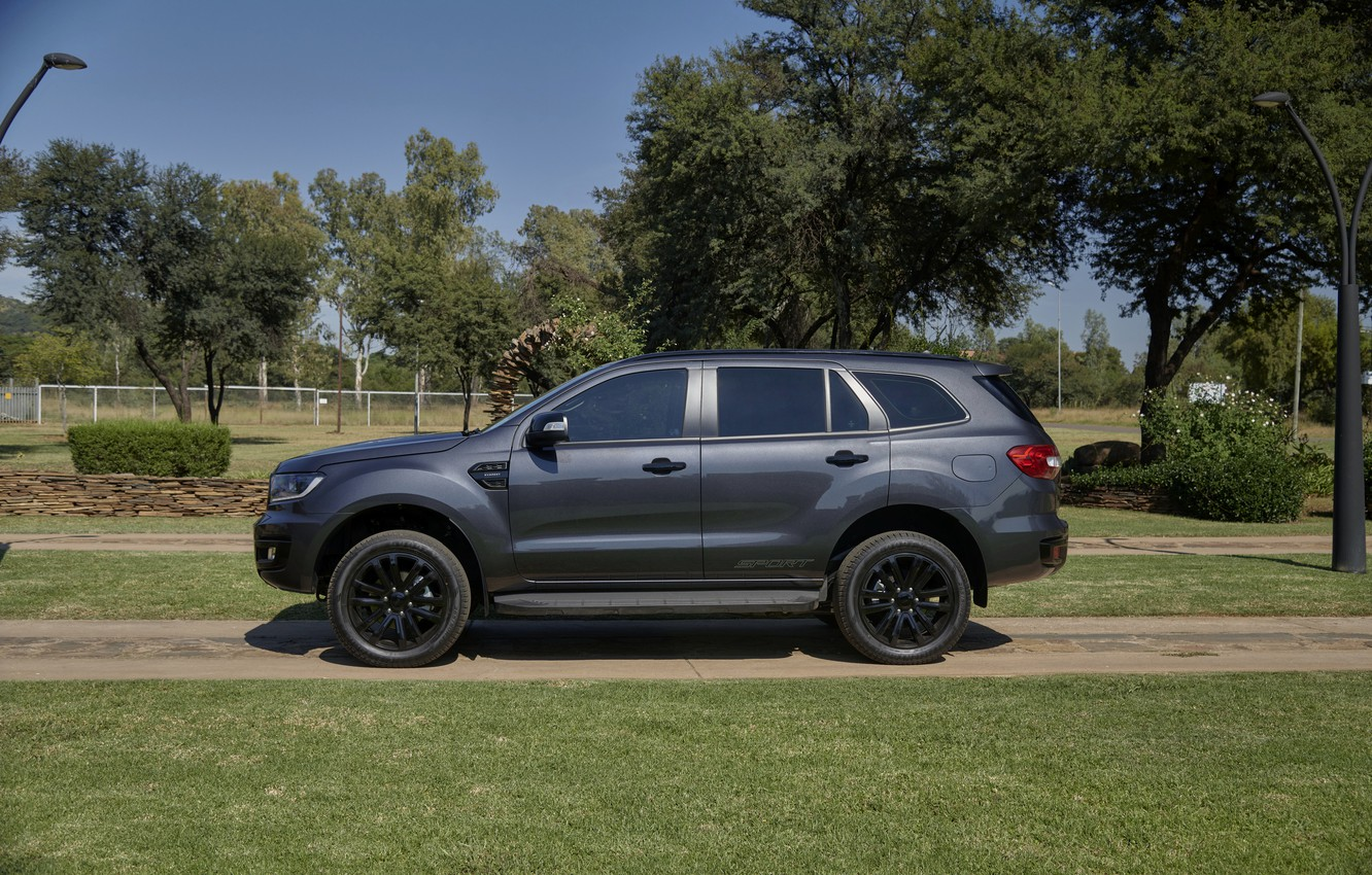 Photo wallpaper Ford, side view, Sport, Everest, 4WD, 2021