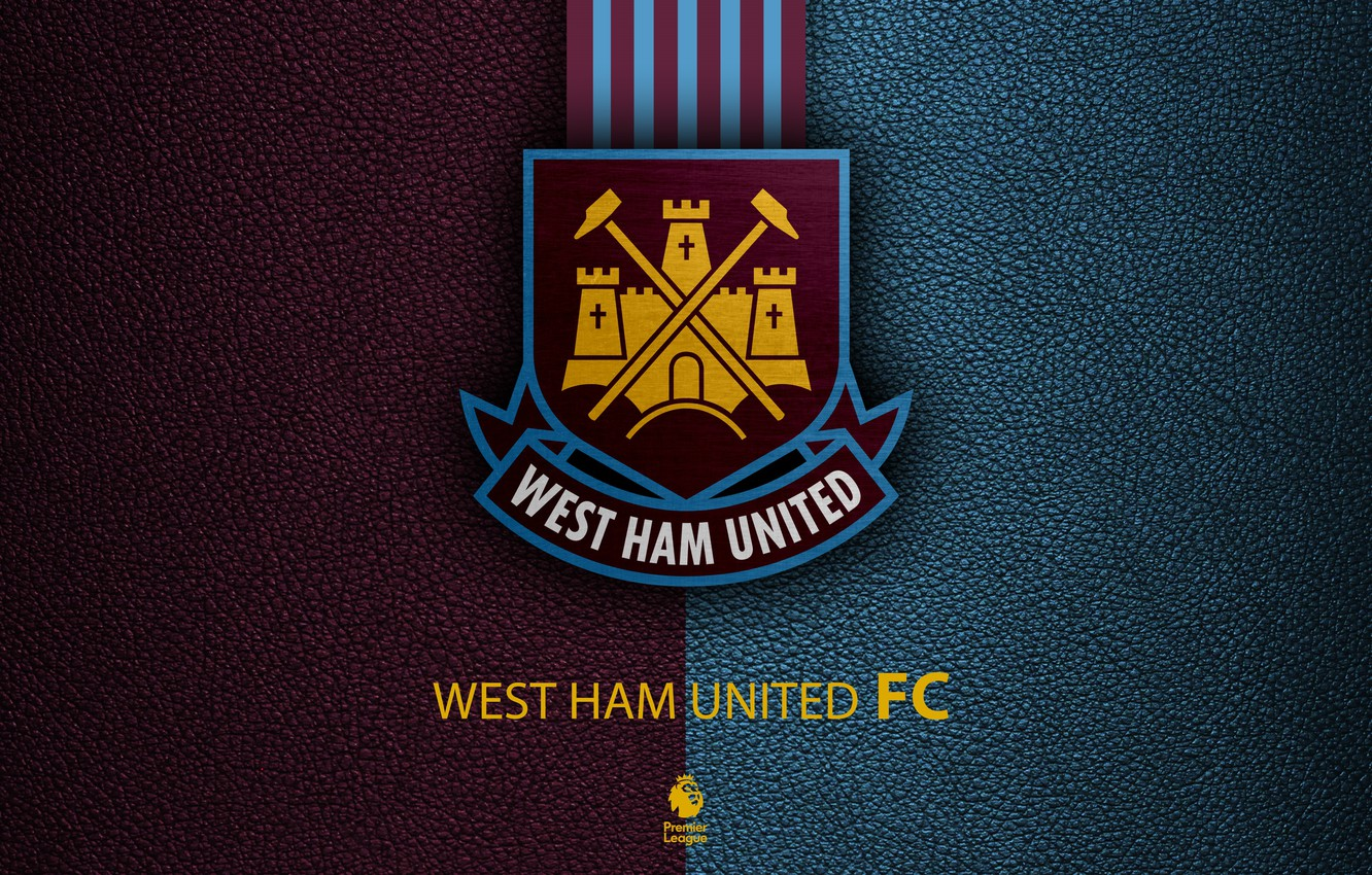 Photo wallpaper wallpaper, sport, logo, football, English Premier League, West Ham United