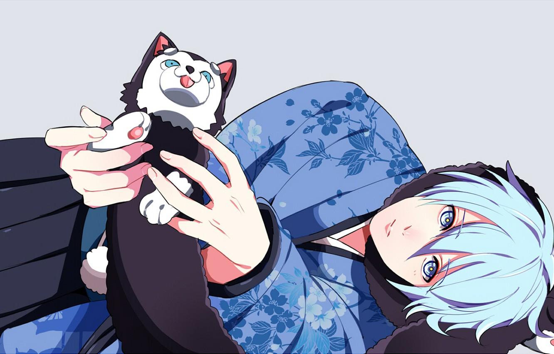 Photo wallpaper Dog, anime, art, Kuroko's Basketball, Kuroko from the Baske, Kuroko, Tetsuya