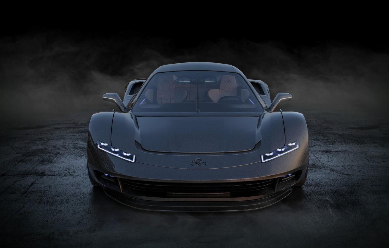 Photo wallpaper car, concept, supercar, Guerriera H6