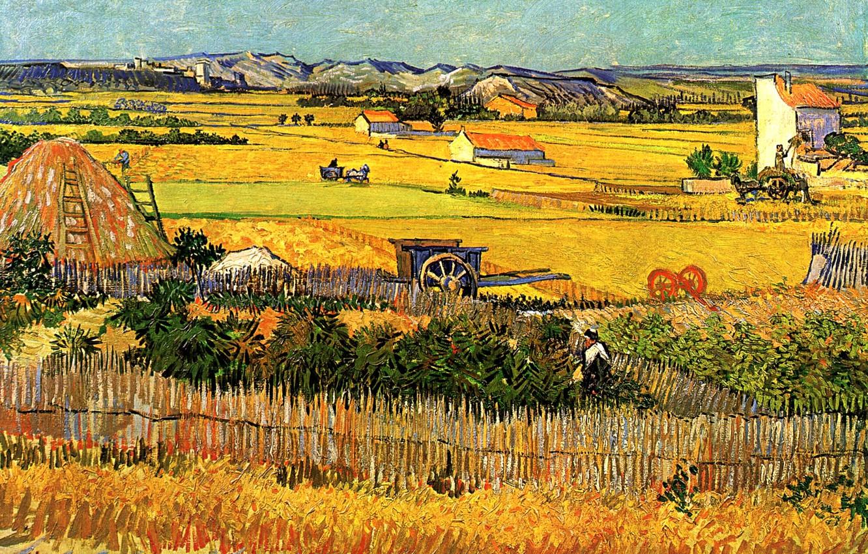 Wallpaper Vincent van Gogh, with