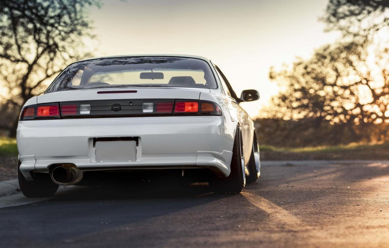 Photo wallpaper Silvia, Nissan, Coupe, S14