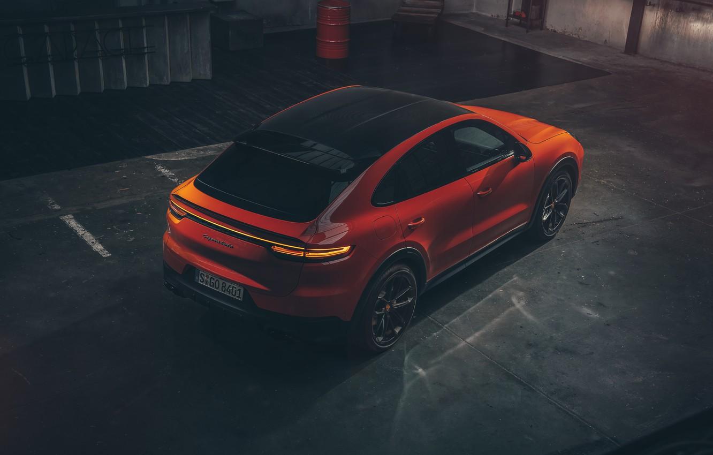 Photo wallpaper Porsche, Coupe, Cut, Cayenne Turbo, 2019