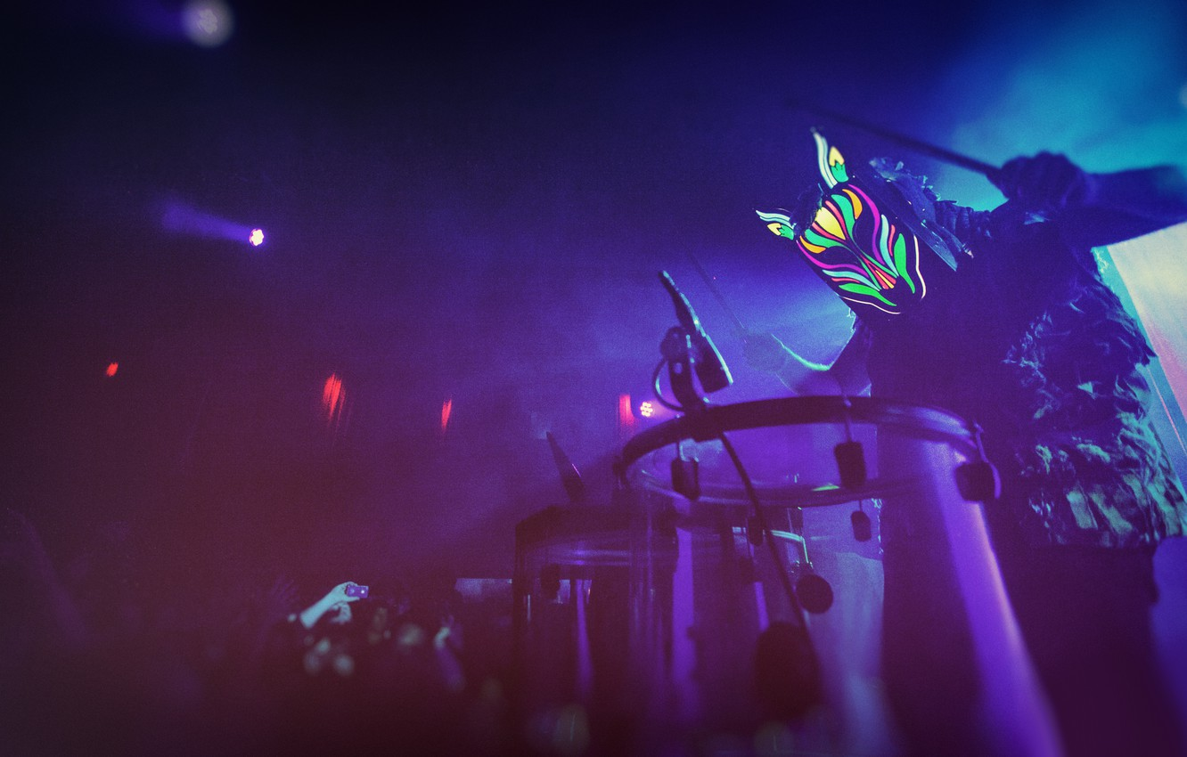Photo wallpaper Music, The game, Mask, Downtown, Electronic, Club, Ambient, Drums, Dream Pop, Slow Magic, Chillwave, Synth-pop