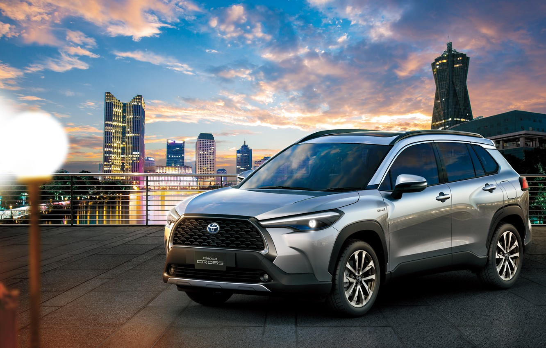 Photo wallpaper Toyota, Hybrid, Corolla, Cross, TH-spec, 2020