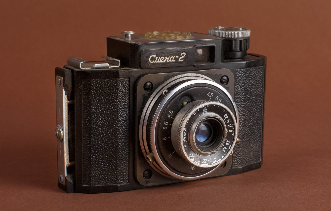 Photo wallpaper photo, USSR, old, camera, смена2, photographer Alexander butchers, old camera