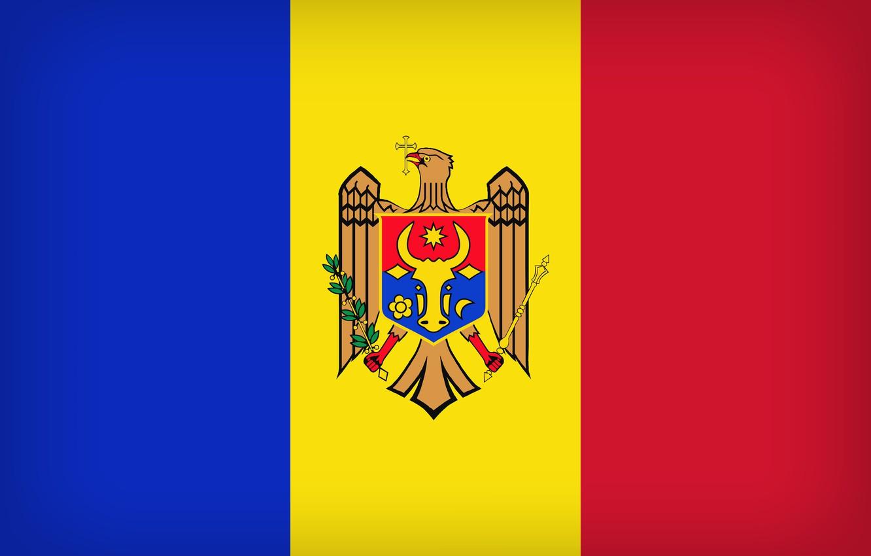 Photo wallpaper Flag, Moldova, Moldova Large Flag, Flag Of Moldova, Moldavia