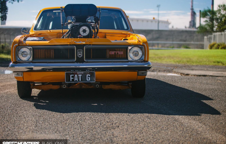 Photo wallpaper Race, GTS, Custom, Holden, Engine, Vehicle
