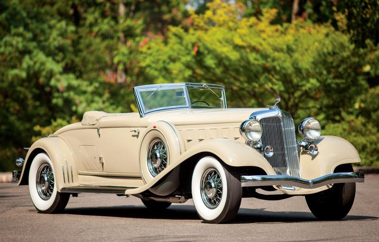 Photo wallpaper Roadster, Convertible, Chrysler Custom Imperial