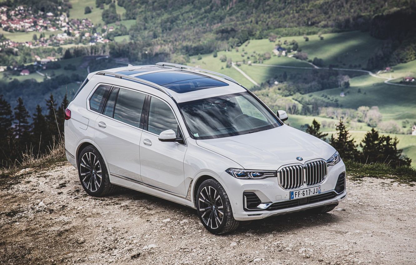 Photo wallpaper BMW, xDrive, 2019, X7