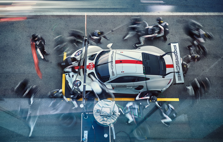 Photo wallpaper Porsche, Porsche, Motorsport, racing car, racing car, motorsports, 2019, Porsche 911 RSR