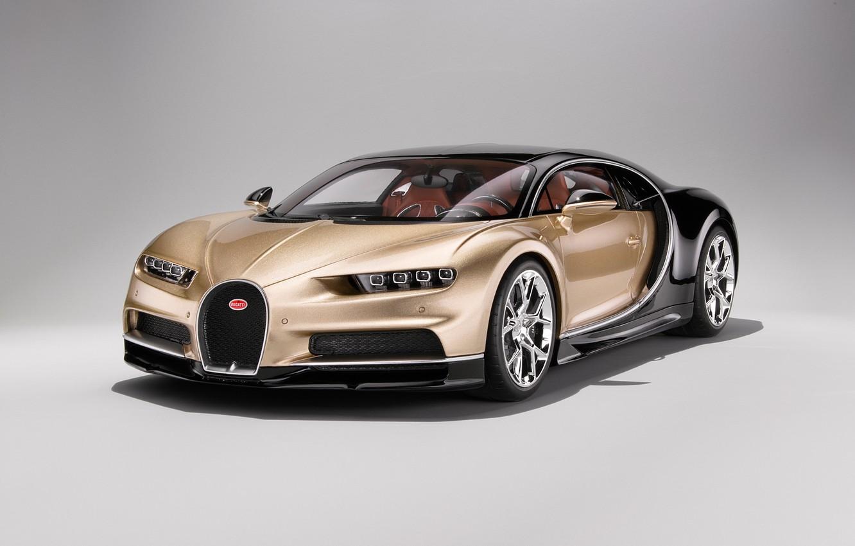 Photo wallpaper background, art, hypercar, Bugatti Chiron