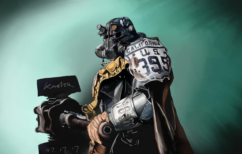 Wallpaper Helmet Fallout Art Bethesda Softworks Bethesda
