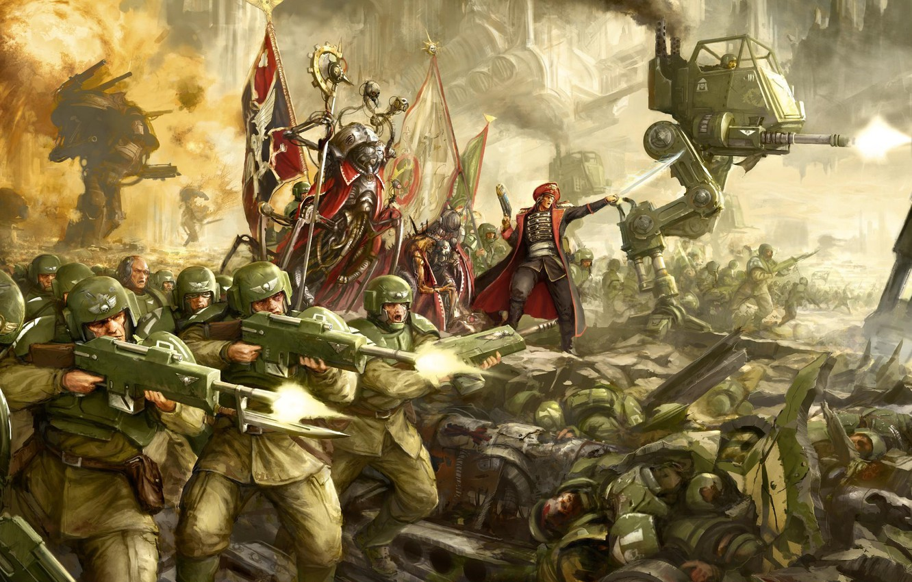 Warhammer 40k Imperial Guard Wallpaper Dom Wallpapers