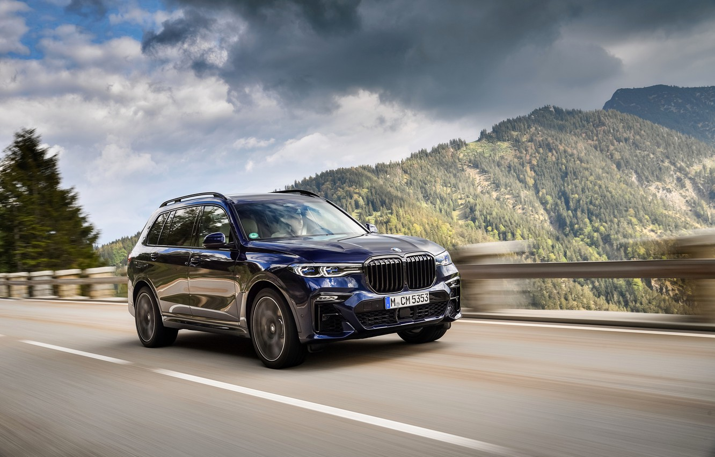 Photo wallpaper BMW, the fence, crossover, SUV, 2020, BMW X7, M50i, X7, G07