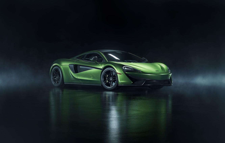 Photo wallpaper rendering, McLaren, supercar, 570S, 2019, photoshop art, by John Schendel