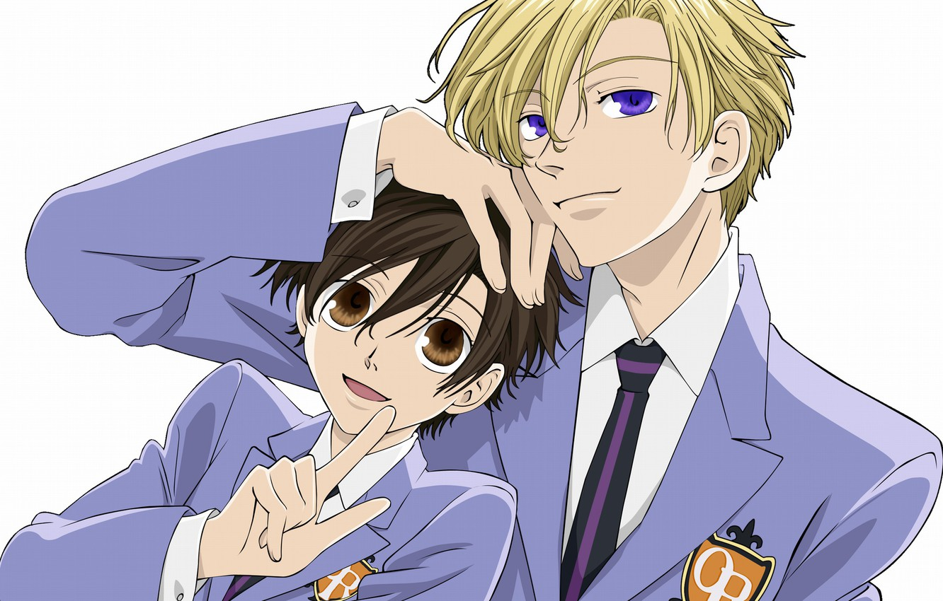Wallpaper Form Guys Students Host Club Ouran High School Ouran