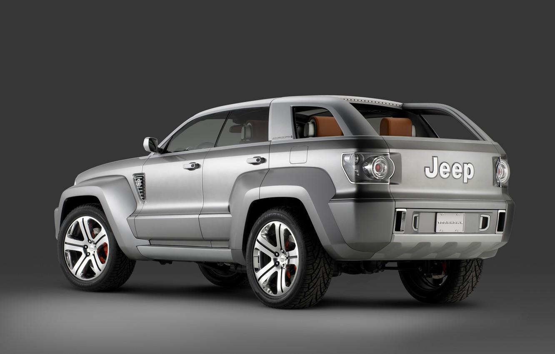 Photo wallpaper Concept, 2007, Jeep, Trailhawk
