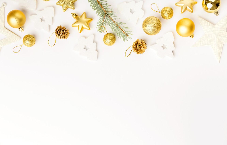 Photo wallpaper holiday, toys, New year, decor, Valeria Maksakova