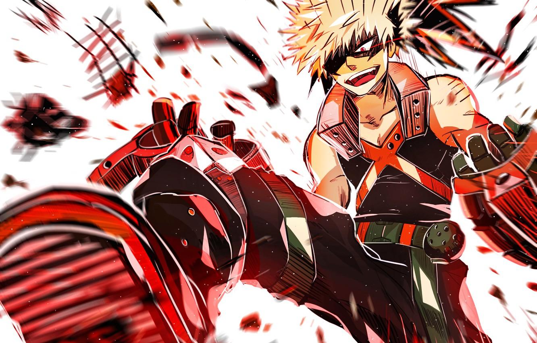 Photo wallpaper anime, art, hero, guy, Boku no Hero Academy, My hero Academy, Bakuga Katsuki