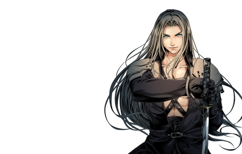 Photo wallpaper art, Final Fantasy, Sephiroth, fantasy