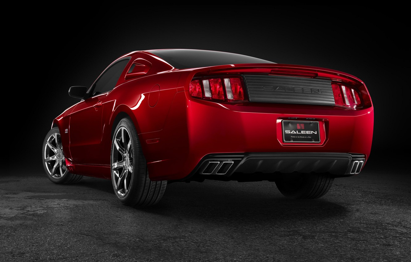 Photo wallpaper Mustang, Ford, Saleen, 2009, S281