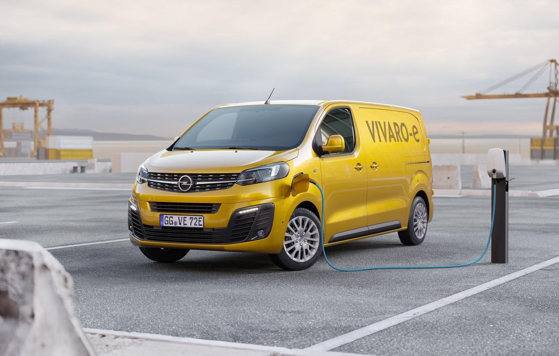 Photo wallpaper opel, van, electric vehicle, vivaro