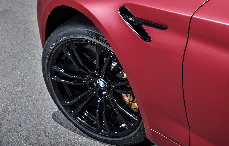 Photo wallpaper wheel, BMW, 2017, M5, F90, M5 First Edition