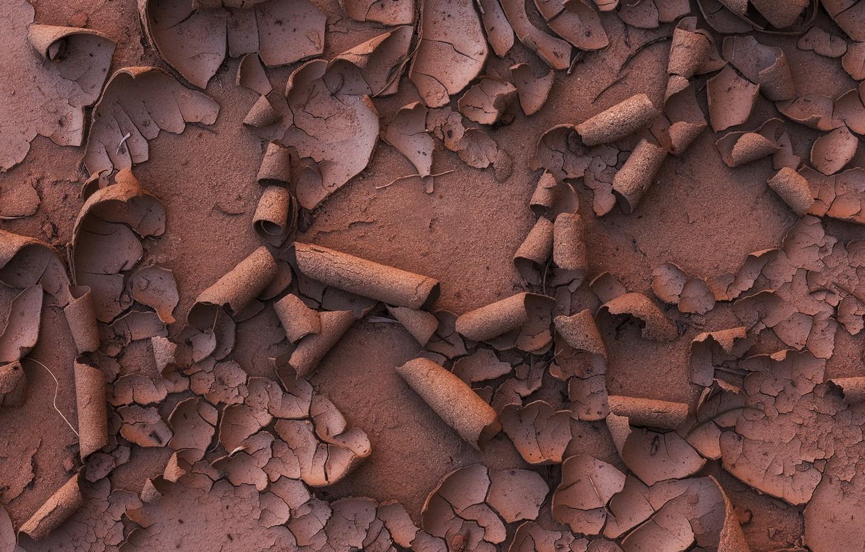 Photo wallpaper sand, earth, dirt