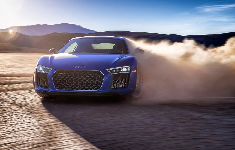 Photo wallpaper Audi, V10 Plus, 2019, Audi R8 V10 Plus