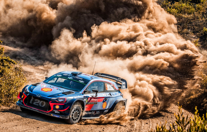 Photo wallpaper Auto, Dust, Sport, Machine, Race, Skid, Hyundai, Car, WRC, Rally, Rally, i20, Hyundai i20, Hyundai …