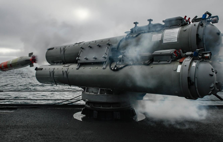 Photo wallpaper gun, torpedo, Mark 46